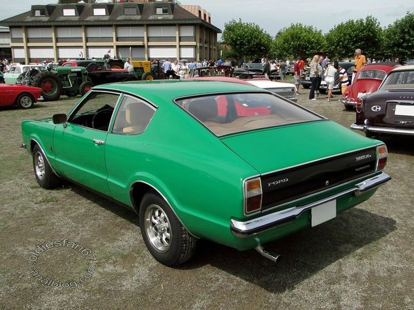 Ford Taunus XL serie TC coupe 1970 1976 2