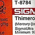 Thimerosal (mercure) dans les vaccins