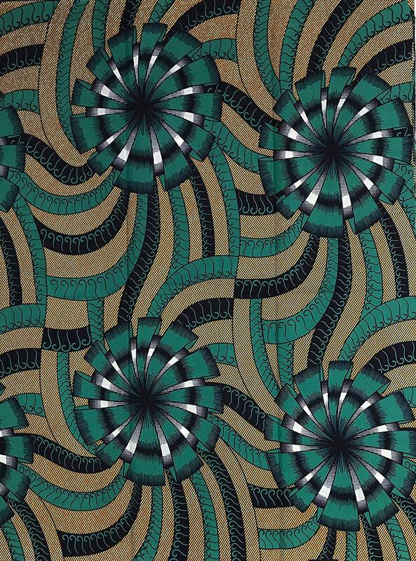 HITARGET Wax Pagne Tissu Africain Collection Original 6 Yards Cire imprimé Top qualité 100% Pur Coton