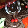 détail verre beaujolais 2010