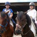 2009.08.01 vacances en Sologne - leçon d'équitation