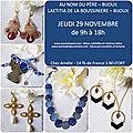 Invitation pour la vente à Belfort le 29 novembre