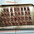 Minis Nounours aux amandes 030