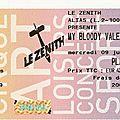 My bloody valentine - mercredi 9 juillet 2008 - zénith (paris)