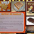 Le gâteau facile au biscuits thé brun