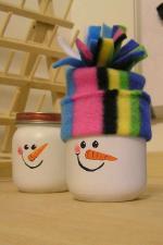 bricolage-noel-enfant-bocaux-deguses-bonhommes-neige