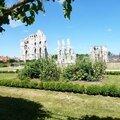 l'abbaye de Saint Omer, vendue comme carrière de pierres à la révolution