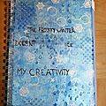 Ma 1ère page de art journal
