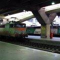 BB 9222'béton' & BB 9245 'fret' sous la dalle de Montparnasse