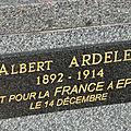 Ardelet albert (villedieu sur indre) + 14/12/1914 epinal (88)