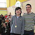 Mai 2009 avec Kilian (judo)