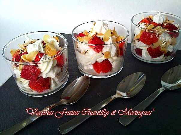 Pavlova version verrines