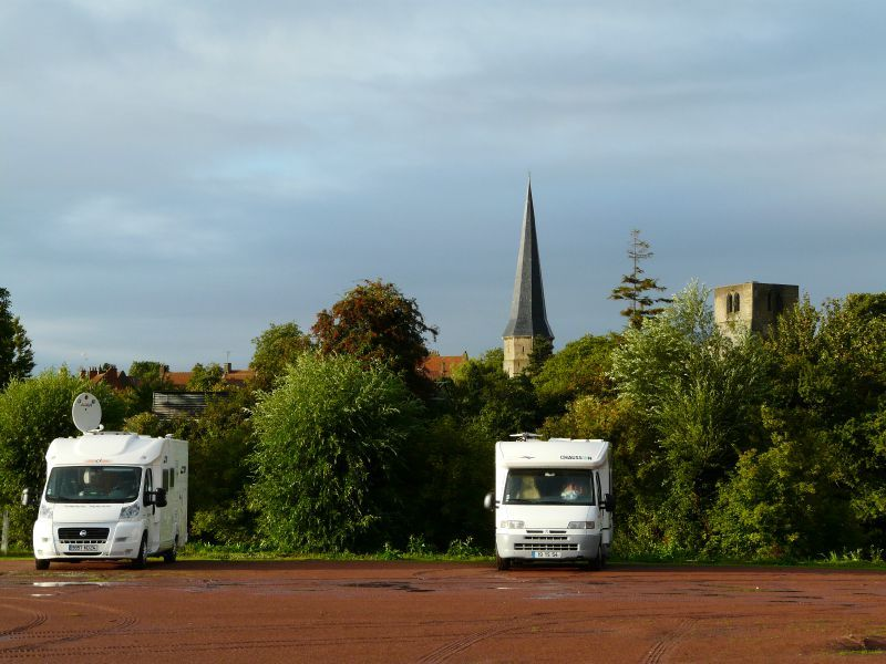 Aire Camping Car Angles Sur L Anglin
