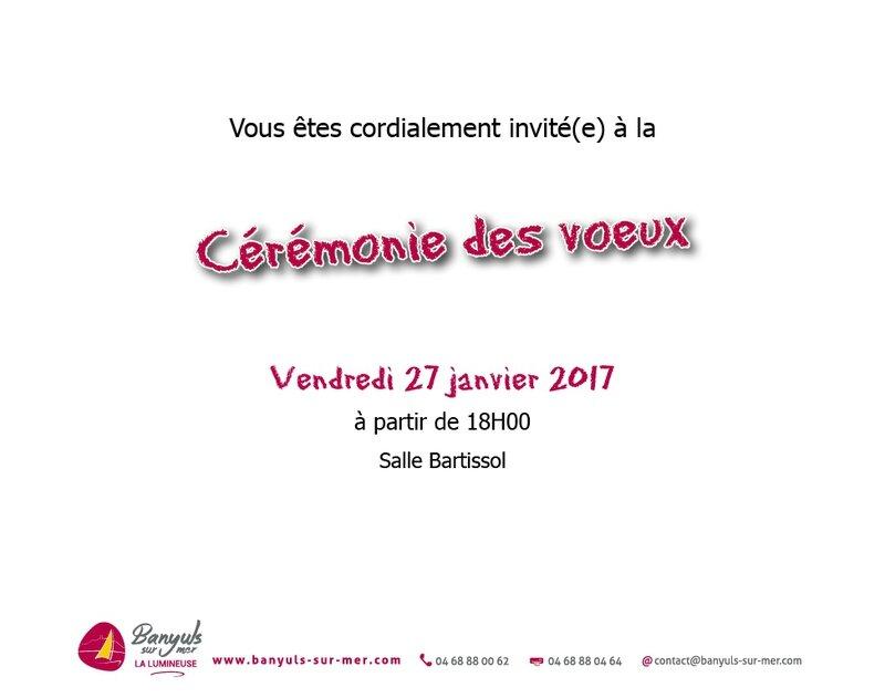 INVIT VOEUX 2017