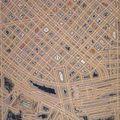 Pierre Cordier, topogramme d'une grande ville, 1992