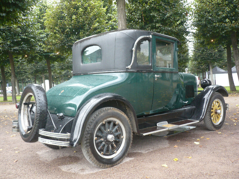 STUDEBAKER Standard Six Country Club Coupé 1926 Schwetzingen (2)