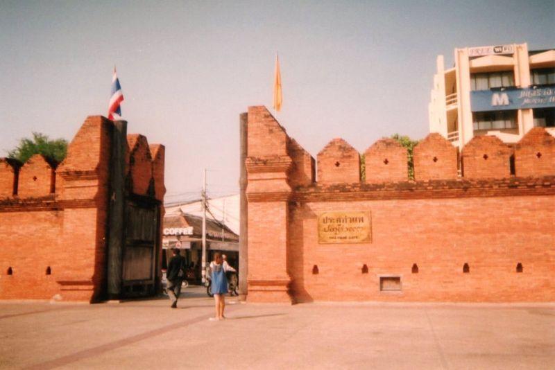 Chiang Maï Ta Phae gate