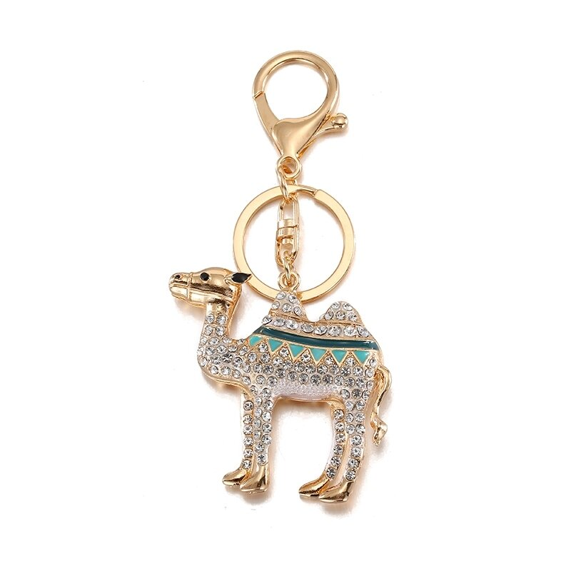 Andybeatty-cristal-Camel-porte-cl-s-animaux-porte-cl-s-bijoux-sac-porte-cl-s-pour
