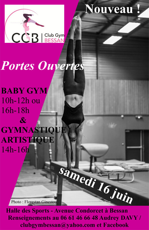 Affiche Portes Ouvertes Photo HD