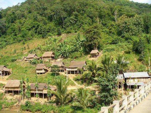 Laos, Luang Prabang à Vengviang 032