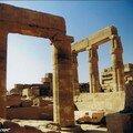 Autre détail du Temple de Karnak