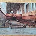 La Chaise Dieu - Abbaye l'intérieur