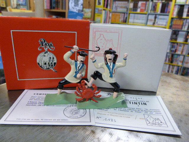 """Pixi : """"Trésor de Rackham Le Rouge"""" Dupond et Dupont au crabe, n° 4509 (Hergé)"""