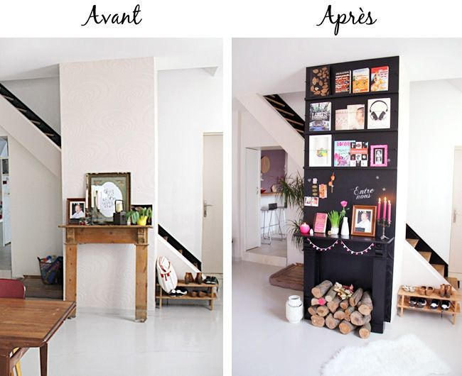 bricolage maison habiller un mur de ses livres pr f r s t te d 39 ange. Black Bedroom Furniture Sets. Home Design Ideas
