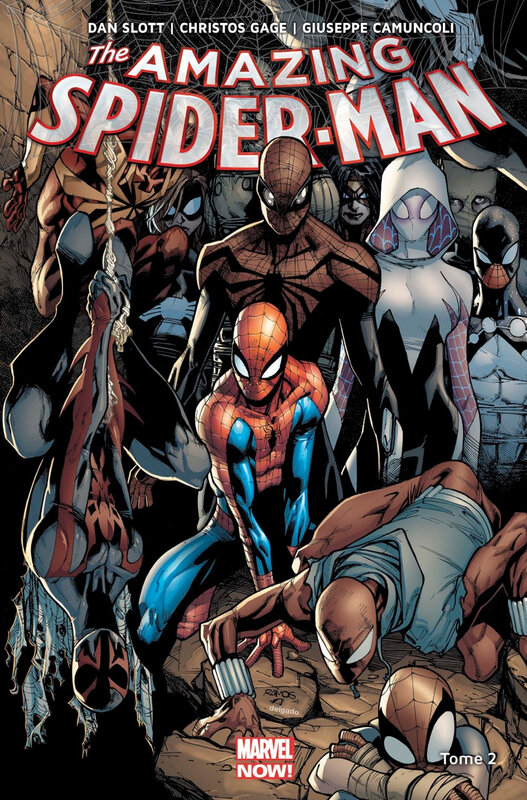 marvel now amazing spiderman 02 prélude à spider-verse