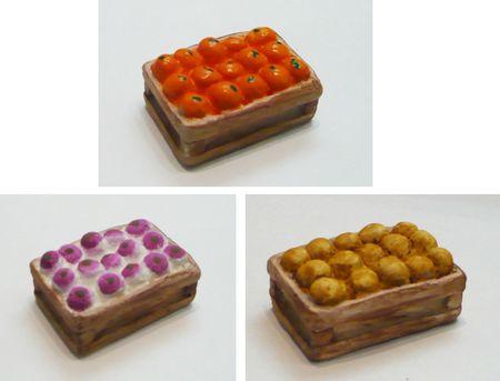 cagette miniature navets clémentines pommes de terre