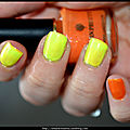 Orange ou jaune ? vernis thermique