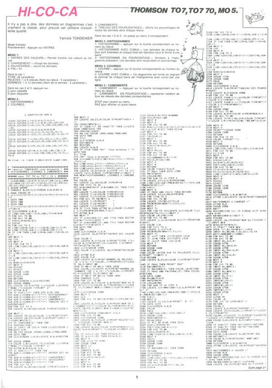Hebdogiciel 75 (22 Mars 1985) - Page 05