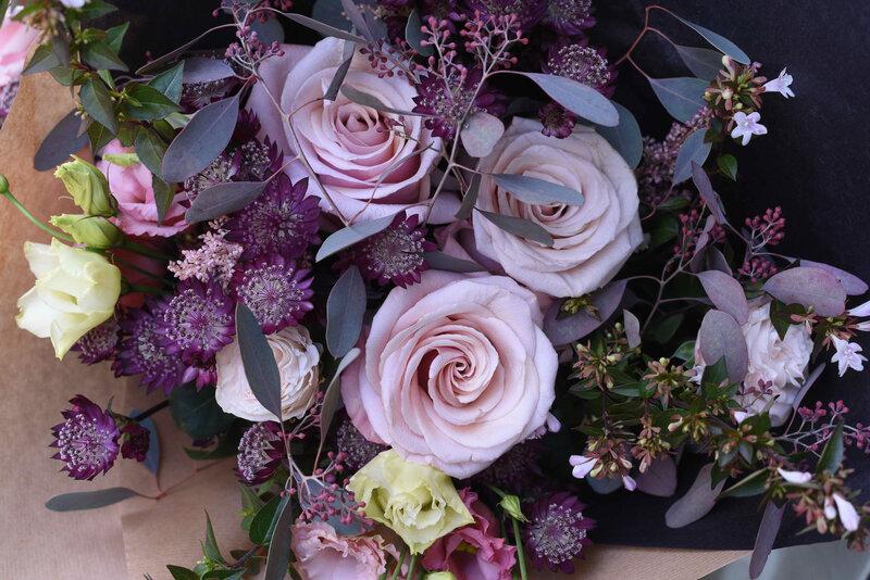 bouquet mauve 2019 - 1