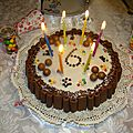 Gâteau au chocolat et son fourrage mousseux