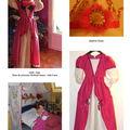 2009 - Noël robe princesse Modes & Travaux taille 8 ans