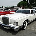 Lincoln continental town car, 1977 à 1979