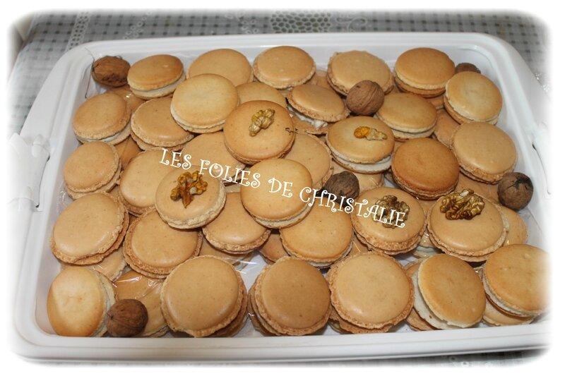 Macarons roquefort noix 2