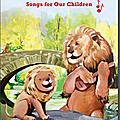 Album de chansons pour enfants publié par la bibliothèque publique de new york