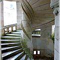 escalier de la chapelle