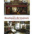 Paris boutiques de toujours - masson editeur