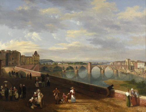 Montauban 1827 par Prosper Debia (1791-1876)