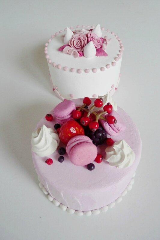 Faux gâteaux individuels