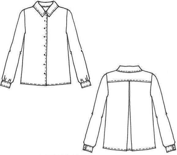 Cousette Patterns - Chemise Cachette