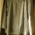 Blouse happy homemade Liberty millie