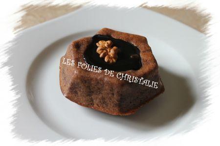 Gâteau choco marrons 6