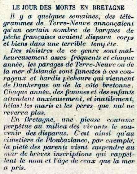 Le jour des morts en Bretagne1
