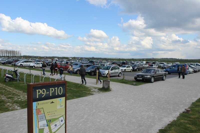 Mont-Saint-Michel parking VEOLIA Transdev