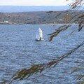 sur le lac Carlos Paz