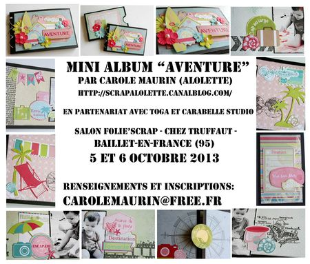 sneek mini album aventure foliescrap