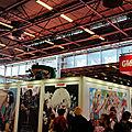 Espace éditeurs - stand Glénat